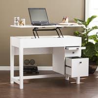 Harper Blvd Ellenda Midcentury Adjustable Height Desk - White