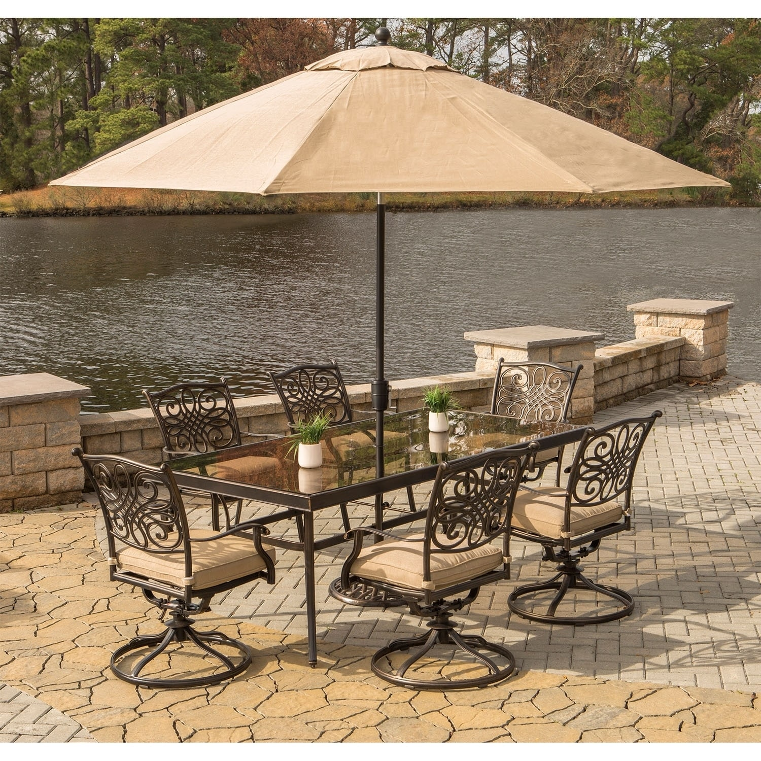 Hanover Traditions 7 Piece Dining Set