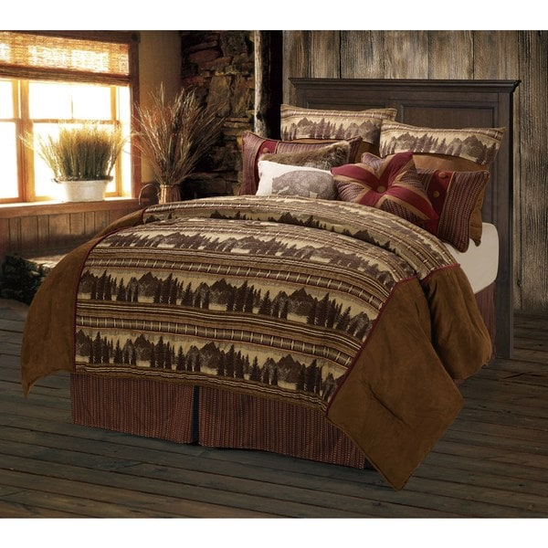 HiEnd Accents Briarfield Full Size Comforter Set