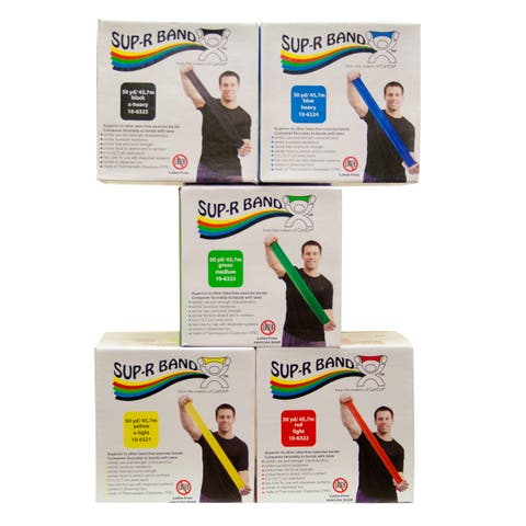 Sup-R Band Latex Free Exercise Band - 50 yard roll