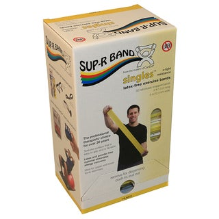 Sup-R Band® Latex-Free, 5-foot Singles®, 30 piece dispenser