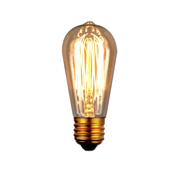 Vintage Antique Light Bulb 6 Pack Medium Size 40 Wattage E26 On Free Shipping Orders Over 45 15951706