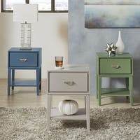 Niko 1-Drawer Side Table with Shelf iNSPIRE Q Modern