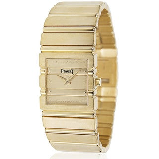 Pre-Owned Piaget Polo 8131 C701 Ladies Watch in 18KT Yellow Gold