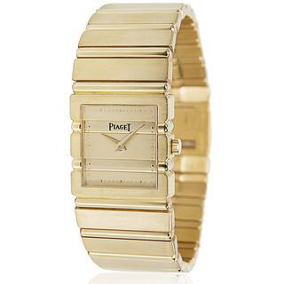 Pre-Owned Piaget Polo 8131 C701 Ladies Watch in 18KT Yellow Gold|https://ak1.ostkcdn.com/images/products/15951728/P22350942.jpg?impolicy=medium
