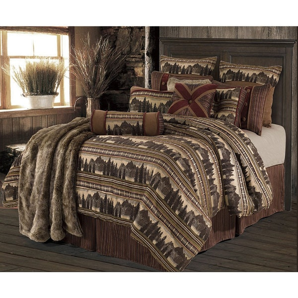 HiEnd Accents Briarcliff Full-size Comforter Set