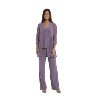 R&M Richards Orchid Pant Set (Option: 6)|https://ak1.ostkcdn.com/images/products/15951750/P22350894.jpg?impolicy=medium