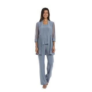 R&M Richards Slate Grey Pant Set|https://ak1.ostkcdn.com/images/products/15951753/P22350896.jpg?_ostk_perf_=percv&impolicy=medium