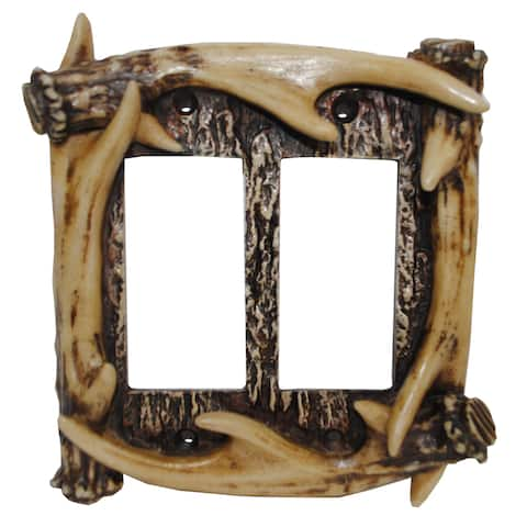 HiEnd Accents Antler Wall Plate
