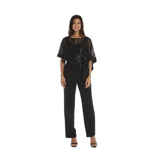 R&M Richards Poncho Pant Suit