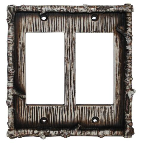 HiEnd Accents Birch Twig Wall Plate