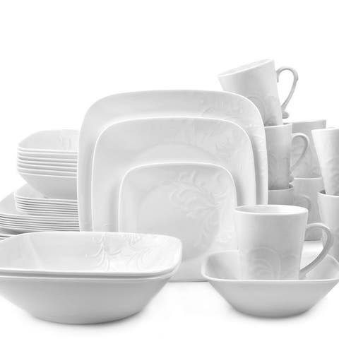 Corelle Boutique Cherish Square 42-pc Dinnerware Set