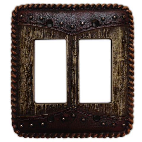 HiEnd Accents Woodgrain W/Dbl Yoke Switchplate (Ea)