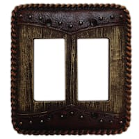 HiEnd Accents Woodgrain W/Dbl Yoke Switchplate (Ea)