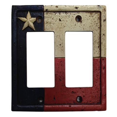 HiEnd Accents Texas Switchplate Cover(Ea)