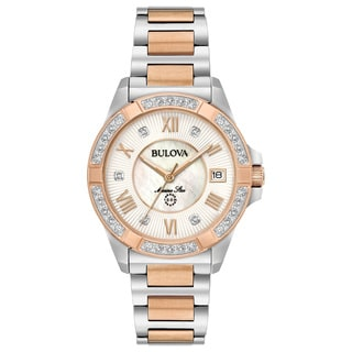 Bulova Ladies' Marine Star Diamond Watch 98R234
