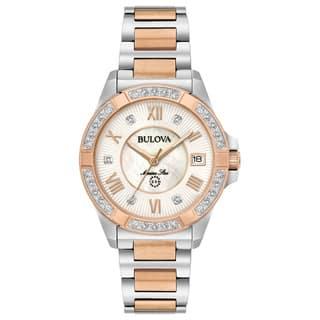 Bulova Ladies' Marine Star Diamond Watch 98R234|https://ak1.ostkcdn.com/images/products/15951800/P22350937.jpg?impolicy=medium