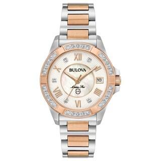 Bulova Ladies' Marine Star Diamond Watch 98R234