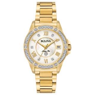 Bulova Ladies' Marine Star Diamond Watch 98R235|https://ak1.ostkcdn.com/images/products/15951803/P22350939.jpg?impolicy=medium