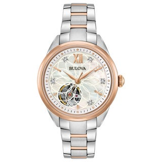 Link to Bulova Ladies' Automatic Diamond Watch Similar Items in Women's Watches