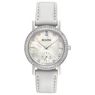 Bulova Ladies' Swarovski Element Crystal Strap Watch 96L245