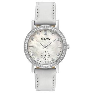 Bulova Ladies' Swarovski Crystal Strap Watch 96L245