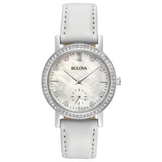 Bulova Ladies' Swarovski Element Crystal Strap Watch 96L245