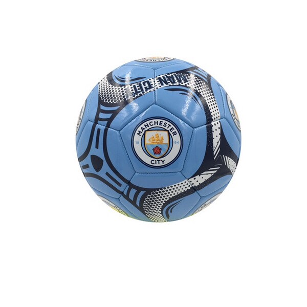 Manchester City Silver #5 Soccer Ball