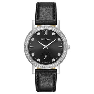 Bulova Ladies' Swarovski Crystal Strap Watch 96L246