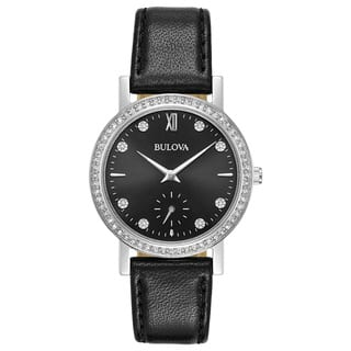 Bulova Ladies' Swarovski Element Crystal Strap Watch 96L246|https://ak1.ostkcdn.com/images/products/15951895/P22351101.jpg?impolicy=medium