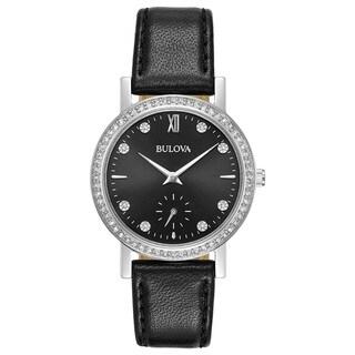 Bulova Ladies' Swarovski Element Crystal Strap Watch 96L246