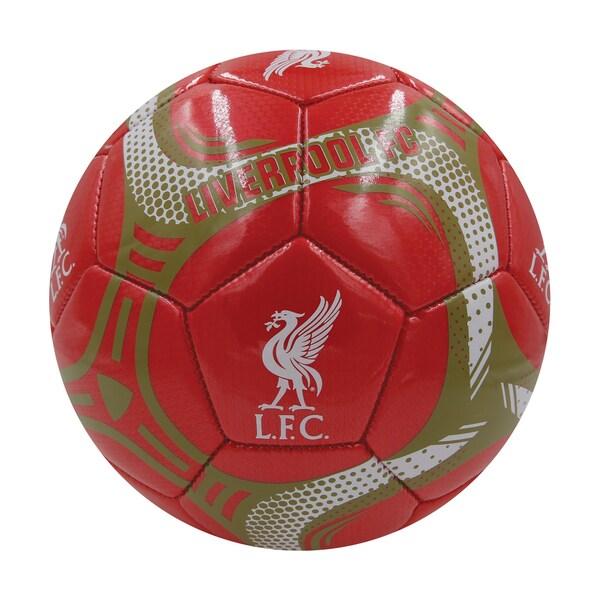 Liverpool FC Silver #5 Soccor Ball