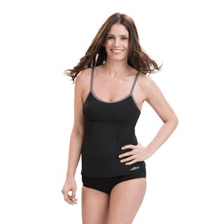 Dolfin Aquashape Scoop Neck Black Tankini Top