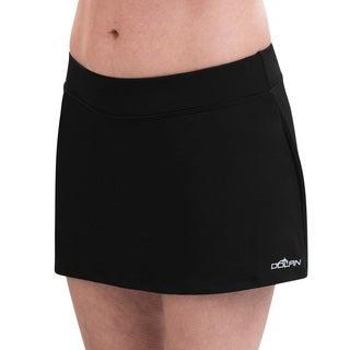Dolfin Aquashape Black A-Line Swim Skirt (2 options available)