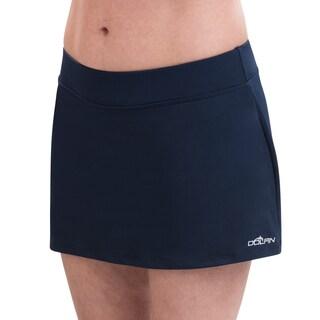 Dolfin Aquashape Navy A-Line Swim Skirt