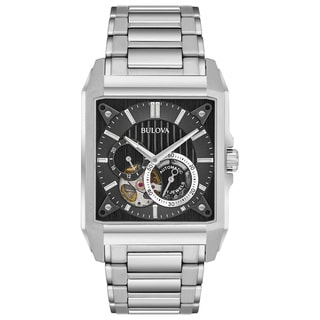 Bulova Men's Automatic Stainless Steel Watch 96A194