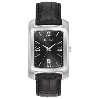 Bulova Men's Strap Watch