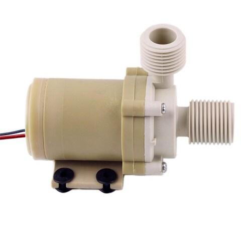 12V Solar Hot Water Pump Circulation Food Grade 212°F with Coupler