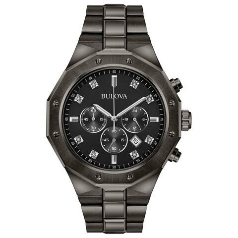 Bulova Men's Chronograph Diamond Watch