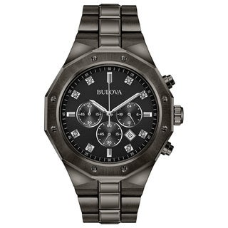 Bulova Men's Chronograph Diamond Watch 98D142