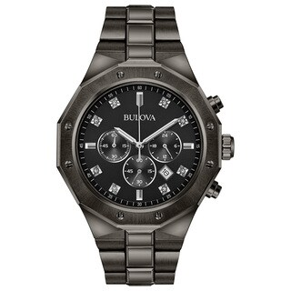 Bulova Men's Chronograph Diamond Watch