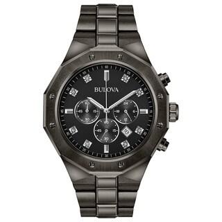 Bulova Men's Chronograph Diamond Watch 98D142