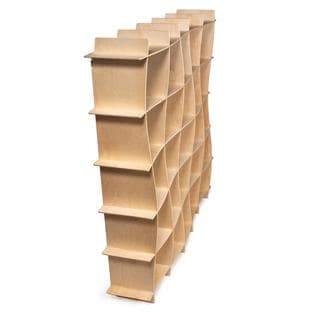 Wave Modern Bookcase