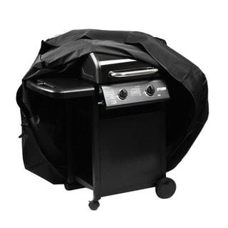 Waterproof BBQ Cover Black (56.6'' x 23.8'' x 45.6'')