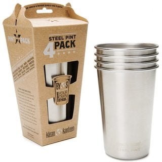 Steel Pint Cup 4 Pack