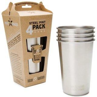 Steel Pint Cup 4 Pack