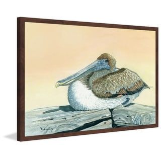 'Pelican' Framed Painting Print
