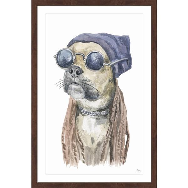 Rockstar' Framed Painting Print