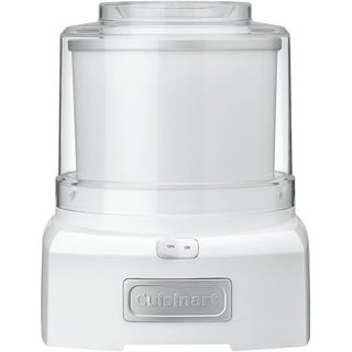Cuisinart Automatic Frozen Yogurt - Ice Cream and Sorbet Maker (Refurbished), White