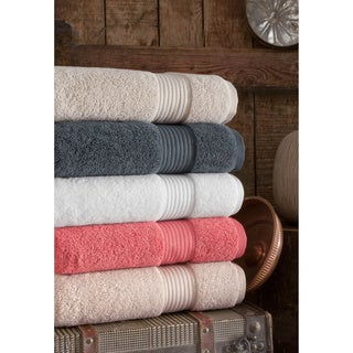 Somette Cloud Loft High-absorbency Turkish Cotton Oversized Bath Towels (Set of 2)
